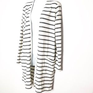 Gap Long Open Front Cardigan Large